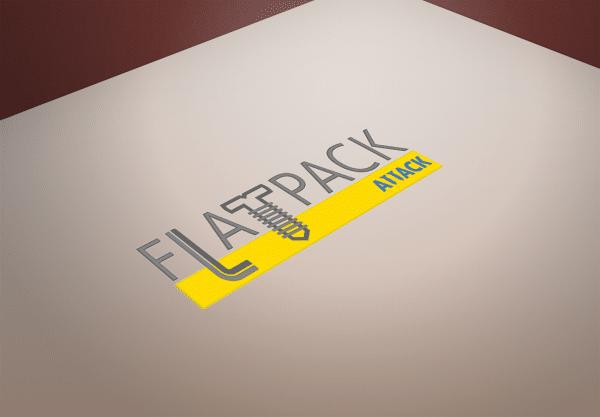 FlatPack Attack Logo